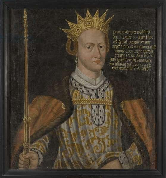 Margareta I, Queen of Denmark, Norway and Sweden (oil on canvas)