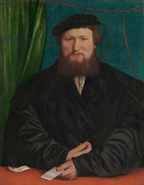 Derick Berck of Cologne, 1536 (oil on canvas, transferred from wood)
