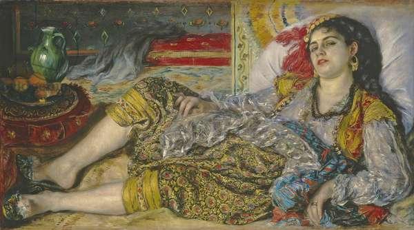 Odalisque, 1870 (oil on canvas)