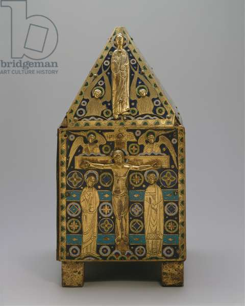 Tabernacle (copper and champleve enamel)