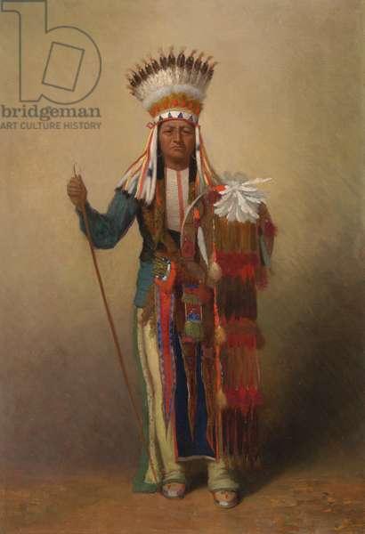 Minimic, c.1878 (oil on canvas)