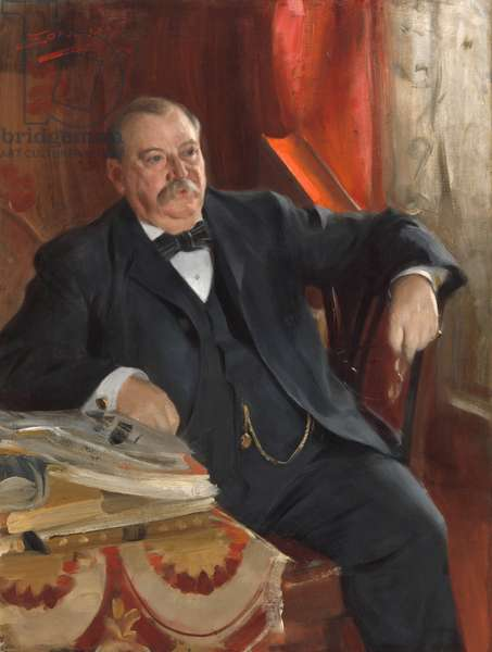 Stephen Grover Cleveland (1837-1908), 1899 (oil on canvas)
