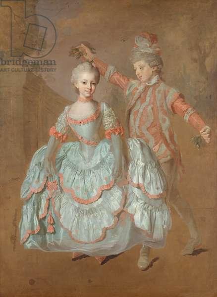 Dancing Children, c.1760 (oil on canvas)