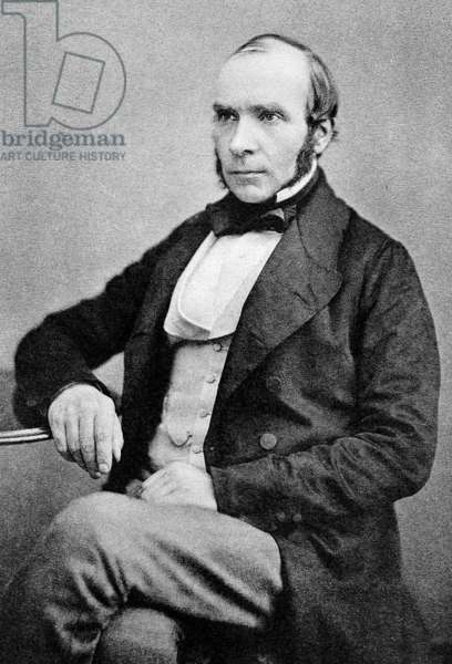John Snow (1813-1858) English physician known for his work in epidemiology, Autotype 1856, published in 1887 (autotype)