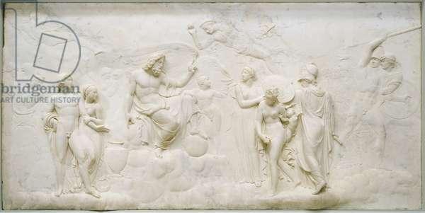 Judgment of Jupiter, 1786-87 (marble)
