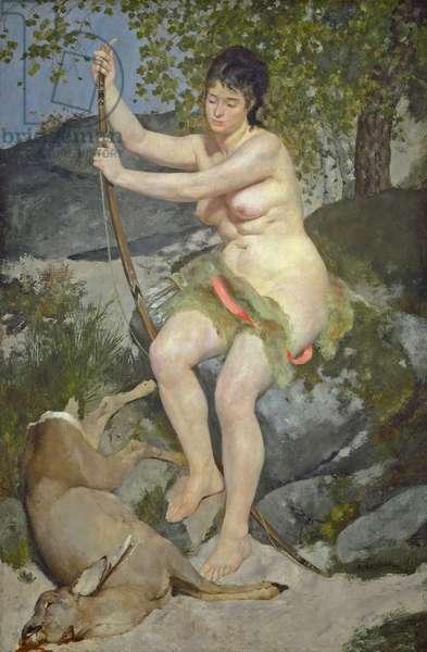 Diana, 1867 (oil on canvas)