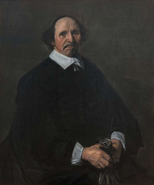 Portrait of a Man, c. 1655-60 (oil on canvas)