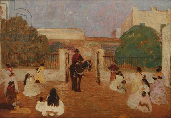 The Gaucho Candioti, 1880-1938 (oil)