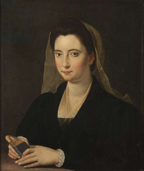 Young Lady, called Lucrezia Cenci (oil on canvas)