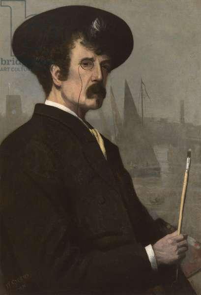 James Abbott McNeill Whistler (1834-1903) 1870 (oil on canvas)