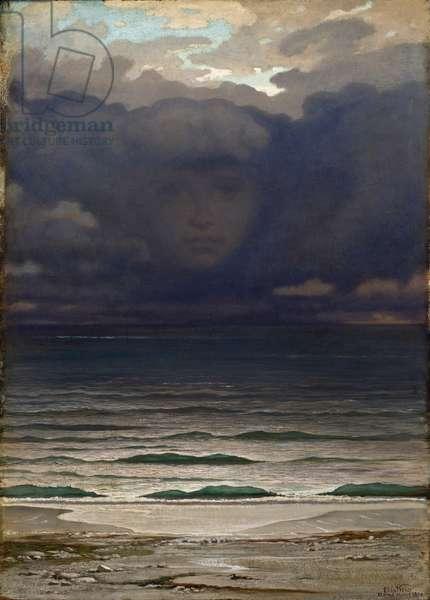 Memory, 1870 (oil on mahogany panel)