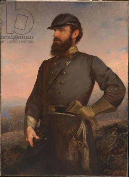 Thomas Jonathan Jackson (1824-1863), 1876 (oil on canvas)