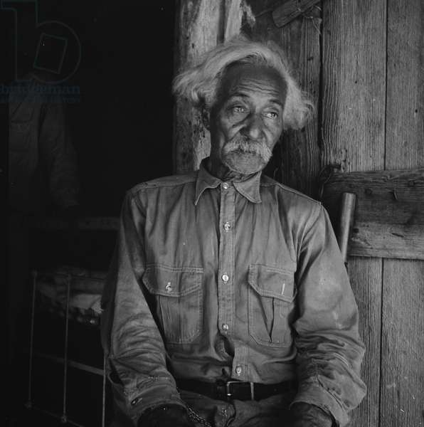 Texan Bob Lemmons, 1936 (b/w photo)