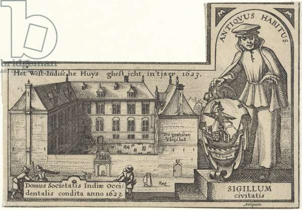 West India House in Amsterdam, 1623-26 (etching)