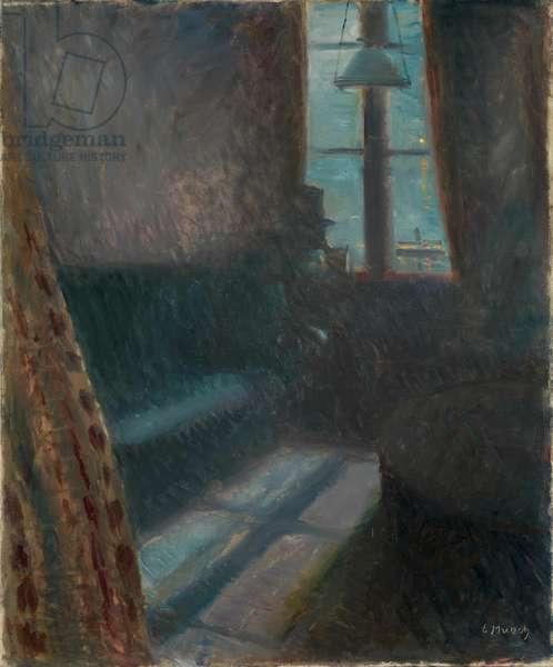 Night in Saint-Cloud, 1890 (oil on canvas)