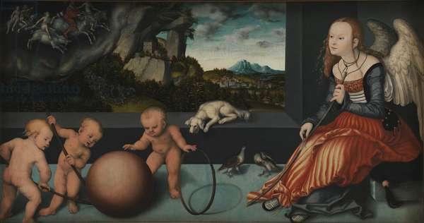 Melancholia, 1532 (oil on panel)