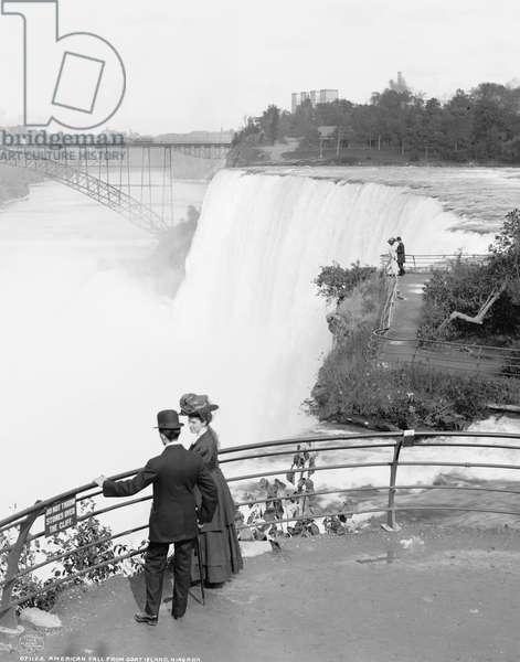 American Falls from Goat Island, Niagara