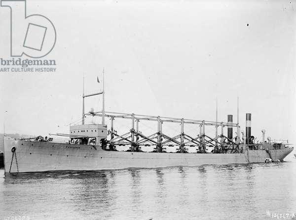 U.S.S. Cyclops, 1915-17 (b/w photo)