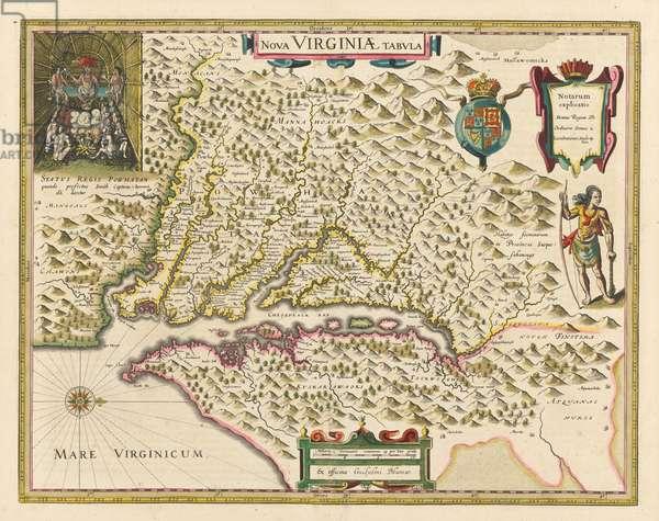 Powhatan, 1618 (engraving)