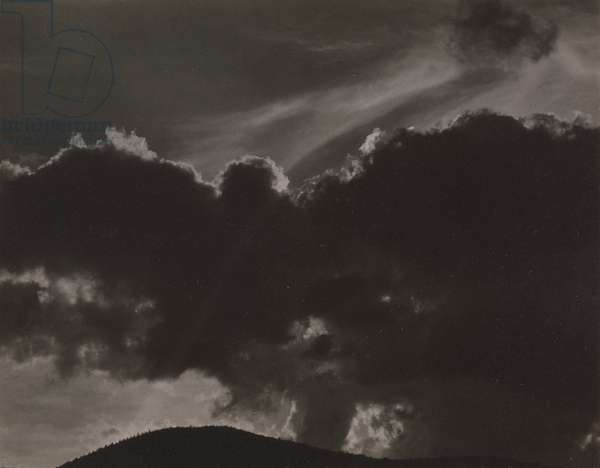 Songs of the Sky, 1924 (gelatin silver print)