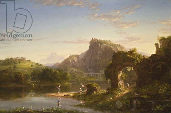 L'Allegro, 1845 (oil on canvas)