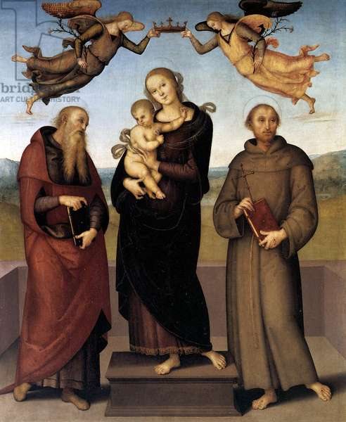 The Virgin of Loretto with Saint Jerome and Saint Francis, 1507-15 (oil on panel)