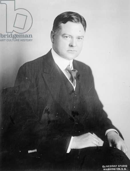 Herbert Hoover, c.1910-20 (b/w photo)