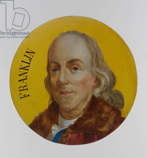 Benjamin Franklin (faience)