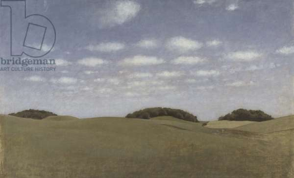 Landscape from Lejre, 1905 (oil on canvas)