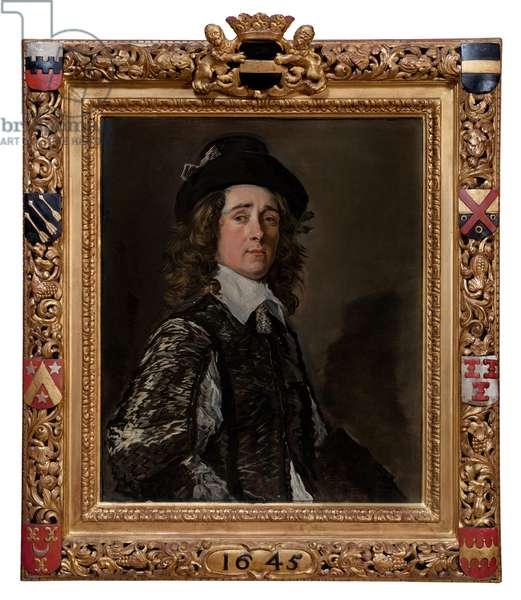 Portrait of Jasper Schade, 1645 (oil on canvas)