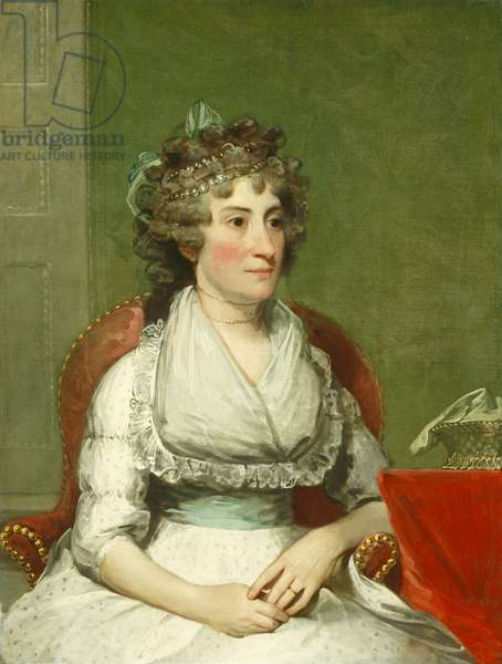 Catherine Yates Pollock (Mrs. George Pollock), 1793-4 (oil on canvas)