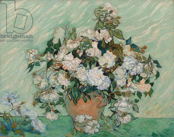 Roses, 1890 (oil on canvas)