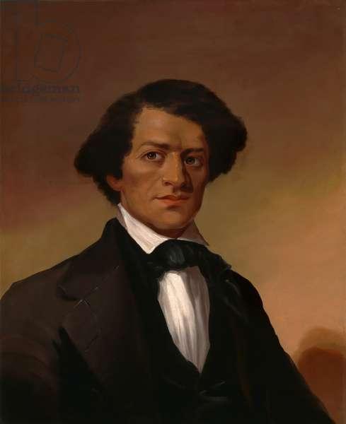 Frederick Douglass (1818 -1895), c.1845 (oil on canvas)
