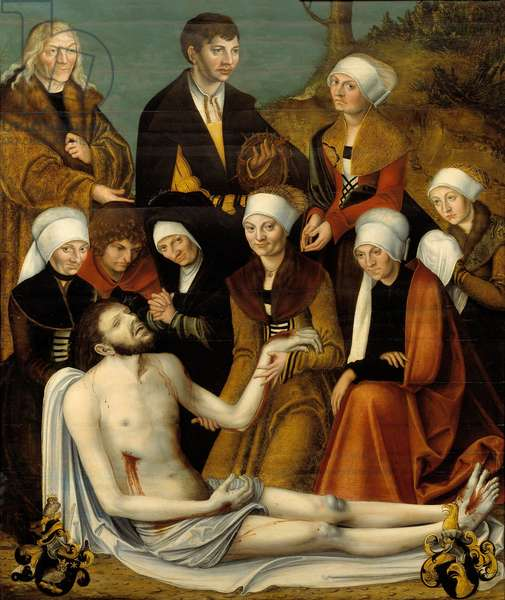 The Lamentation, c.1520-50 (oil on wood)