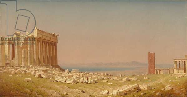 Ruins of the Parthenon, 1880 (oil on canvas)