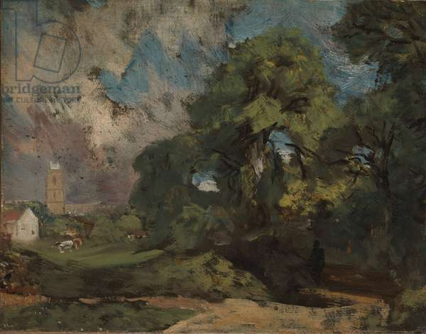 Stoke-by-Nayland, c.1810-11 (oil on canvas)