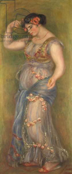Dancing Girl with Castanets, 1909 (oil on canvas)