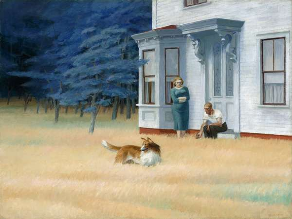 Cape Cod Evening, 1939 (oil on canvas)