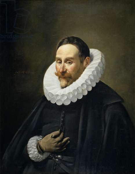 Portrait of a Gentleman, 1618-23 (oil on canvas)