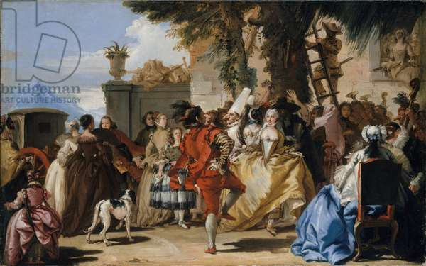 A Dance in the Country, c.1755 (oil on canvas)