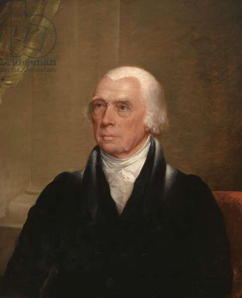 James Madison  (1751-1836), c.1829-30 (oil on canvas)