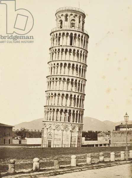 Campanile, Pisa, c.1850 (albumen silver print)