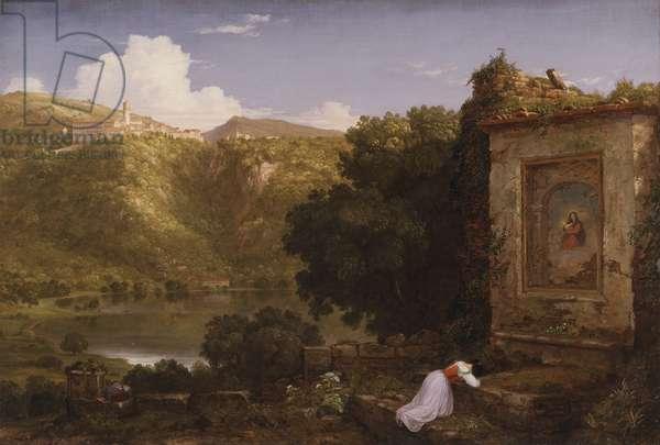 Il Penseroso, 1845 (oil on canvas)