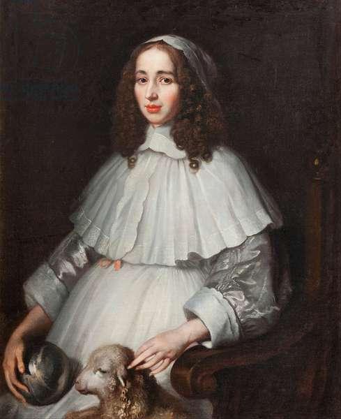 Anna Margareta von Haugwitz c.1650 (oil on canvas)