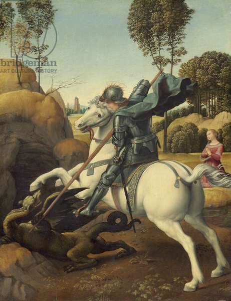 Saint George and the Dragon, c.1506 (oil on panel)
