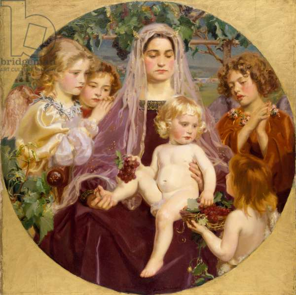Madonna of Giverny, 1901 (oil on canvas)