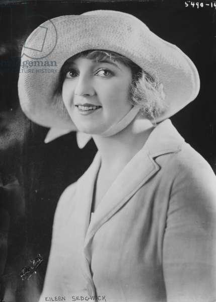 Eileen Sedgwick (b/w photo)