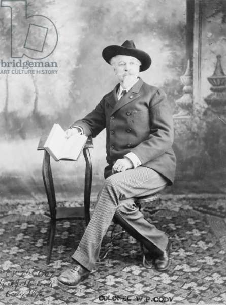 Buffalo Bill Cody, c.1907 (b/w photo)
