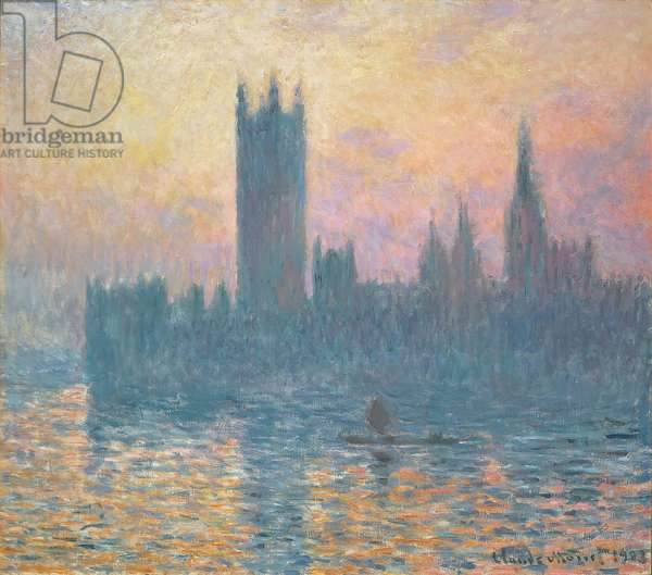 The Houses of Parliament, Sunset, 1903 (oil on canvas)