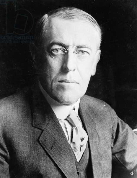 Woodrow Wilson, c.1916 (b/w photo)